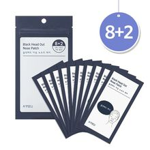 A'PIEU - Black Head Out Nose Patch Set (10pcs)