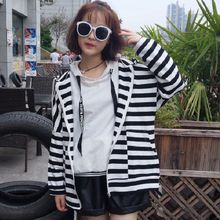Rocho - Stripe Hooded Jacket