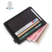 MR.BLUE - Genuine Leather Card Holder
