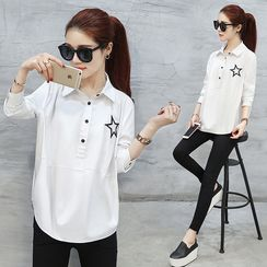 Ekim - Embroidered Blouse
