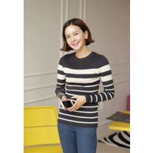 Lemite - Stripe Knit Top