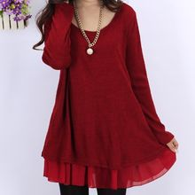 Fancy Show - Long-Sleeve Layered Dress