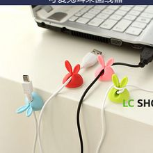 Lazy Corner - Rabbit Ear Cable Organizer