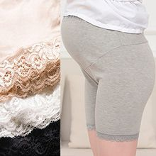 SO-IN - Maternity Lace Trim Boyshorts