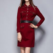 Merald - Long-Sleeve Shirtdress