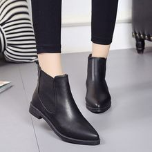 Moonlit Valley - Pointy-Toe Ankle Boots