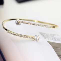 HEDGY - Rhinestone Open Bangle