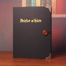 Tivi Boutique - Metal Tipped Medium Adhesive Photo Album