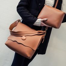 Bag Affair - Set : Faux Leather Shoulder Bags