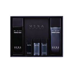 HERA - Homme Black Perfect Set : Skin 120ml + Lotion 120ml