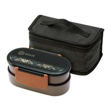 Skater - Season Tight Lunch Box with Chopsticks and Lunch Bag