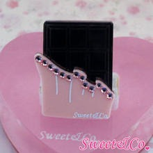 Sweet & Co. - Sweet Pink Swarovski Crystal Choco Bar Ring