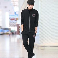 INSO - Set:  Sports Zip Jacket + Sweatpants