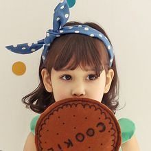 Koibito - Kids Polka Dot Bow Hair Band