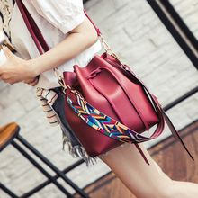 Bag Affair - Faux Leather Bucket Bag