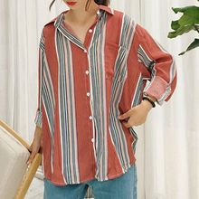 Cloud Nine - Chiffon Striped Shirt
