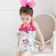 Goldlyre - Kids Floral Swimsuit