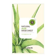 The Saem - Natural Aloe Mask Sheet 1pc