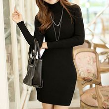 Fashion Street - Long-Sleeve Knit Sheath Dress