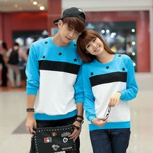 Lovebirds - Couple Color-Block Pullover