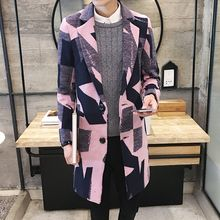 NAPO - Patterned Woolen Coat