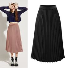 YILIA - Pleated Skirt