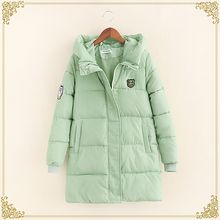 Fairyland - Hooded Long Padded Jacket