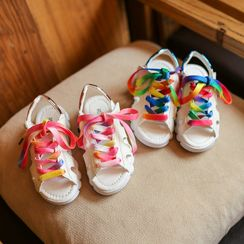 Hambu - Kids Lace Up Sandals
