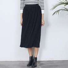 Sens Collection - Pleated Midi Skirt