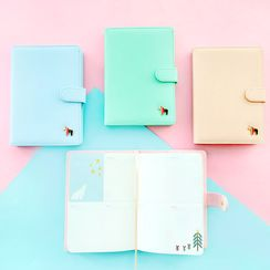Cute Essentials - Faux Leather Cover Schedule Book (S)