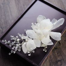 constello - Embellished Floral Wedding Hair Clip