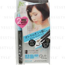 Koji - ESmake + Easy Eyebrow (#01 Grayish Brown)
