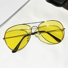 Pompabee - Colored Lens Aviator Sunglasses