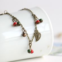 Porcelana - Ball Anklet