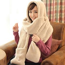 Pompabee - Layered Fleece Scarf