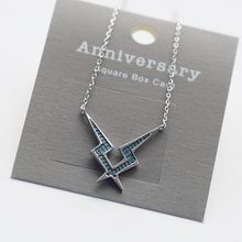 Love Generation - Rhinestone Lightning Necklace
