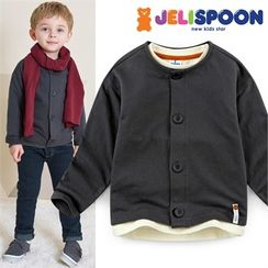 JELISPOON - Kids Round-Neck Cardigan