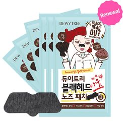DEWYTREE - Blackhead Out Nose Patch 10pcs