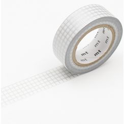 mt - mt Masking Tape : mt deco Grid Silver