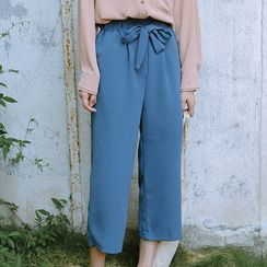 Ivena - Cropped Wide-Leg Pants