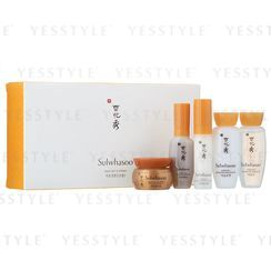 Sulwhasoo - Basic Kit: Activating Serum EX 8ml + Balancing Water EX 15ml + Balancing Emulsion EX 15ml + Eye Cream EX 3.5ml + Renewing Cream EX 5ml