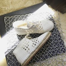 Chinstudio - Perforated Woven Flats
