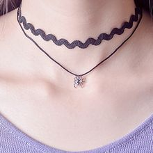 Goldion - Spider Pendant Double Strand Choker