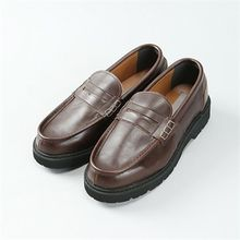 THE COVER - Faux-Leather Loafers