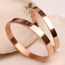 JZ Concept - Mirrored Rose Gold Bangle