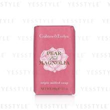 Crabtree & Evelyn - Pear and Pink Magnolia Soap