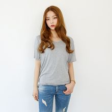 Envy Look - Round-Neck Short-Sleeve T-Shirt