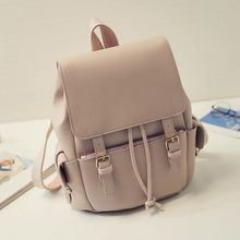 Bag Affair - Flap Faux Leather Backpack