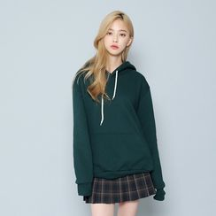 Envy Look - Kangaroo-Pocket Hooded Pullover