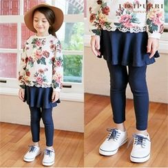LILIPURRI - Kids Inset Skirt Leggings